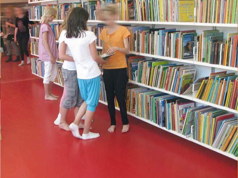 Bodenbeschichtungen – Öffentliche Einrichtungen – Bibliotheken