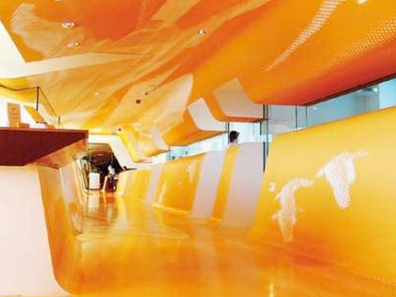 Bodenbeschichtungen – Öffentliche Einrichtungen –  Einkaufshäuser und Foyers