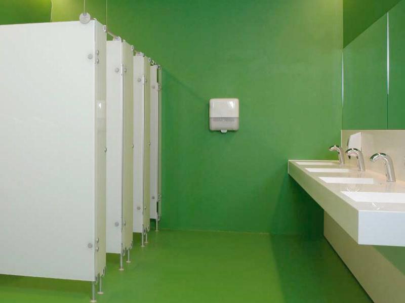 Bodenbeschichtungen – Öffentliche Einrichtungen – Öffentliche Sanitärräume