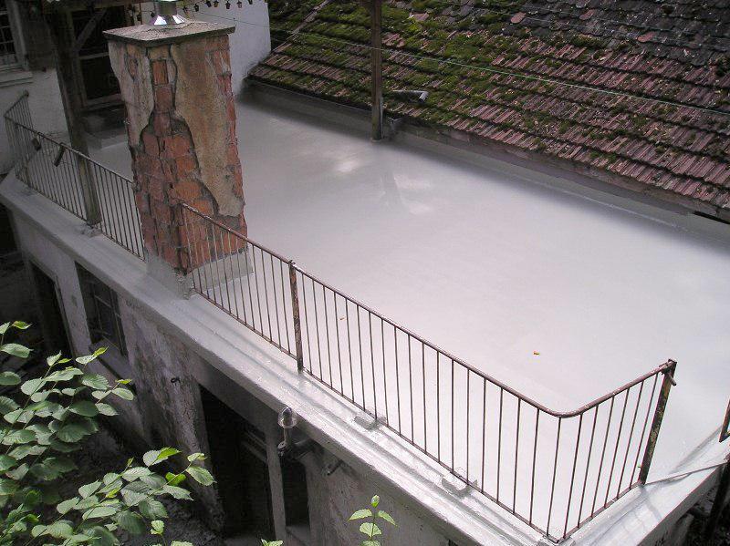 Dach – Terrassenabdichtung als Nacktdach