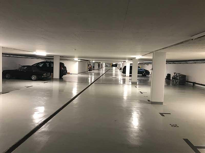 Parking – Tiefgarage