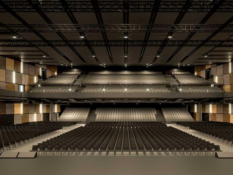 Spezielle Einrichtungen – Samsung Hall